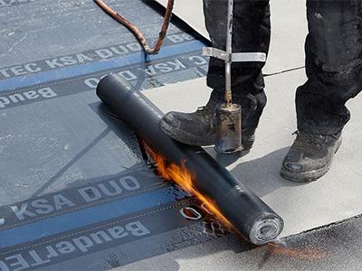 Abdichtung mit Bitumenbahnen, Zaspel-Dach - Flachdachabdichtungen