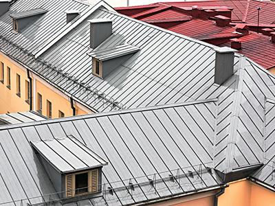 Metalldacheindeckungen, Zaspel-Dach - Eindeckungen am Steildach