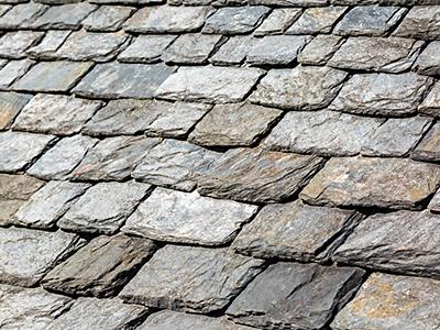 Schiefereindeckung, Zaspel-Dach - Eindeckungen am Steildach