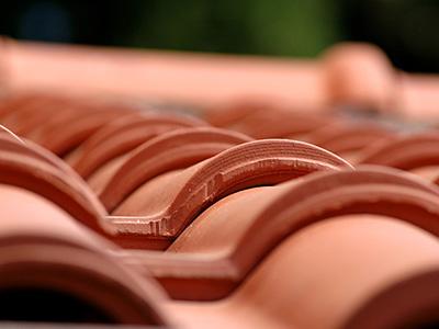 Tonziegel, Zaspel-Dach - Eindeckungen am Steildach