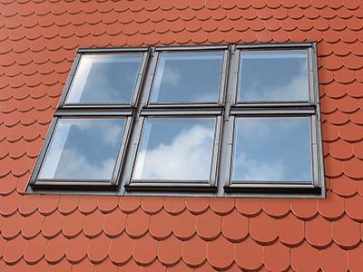 liegendes Dachfenster, Zaspel-Dach - Dachflächenfenster
