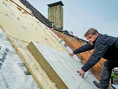Aufsparrendämmung, Zaspel-Dach - Dachflächendämmung
