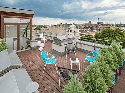 Dachterrasse, Zaspel-Dach - Terrassen & Balkone