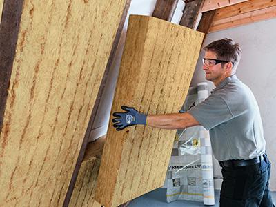 Zwischensparrendämmung, Zaspel-Dach - Dachflächendämmung